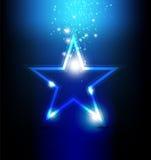Celebração brilhante da estrela Fotos de Stock Royalty Free