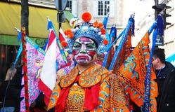 Celebração chinesa 2009 do ano novo Fotografia de Stock Royalty Free