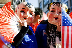 Celebração chinesa do ano novo Foto de Stock Royalty Free
