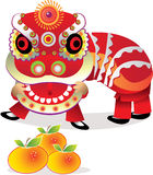 Celebração chinesa do ano novo Fotografia de Stock Royalty Free