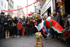 Celebração chinesa do ano novo, 2012 Fotografia de Stock