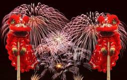 Celebração chinesa do ano novo Foto de Stock