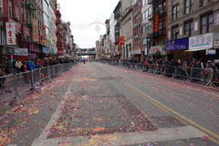 A celebração chinesa do ano 2014 novo em NYC 76 Imagem de Stock
