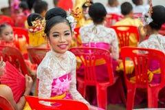 Celebração chinesa do ano novo em Tailândia Imagens de Stock Royalty Free