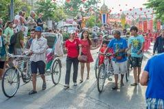 Celebração chinesa do ano novo em Tailândia Imagens de Stock
