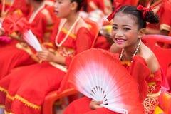 Celebração chinesa do ano novo em Tailândia Imagem de Stock
