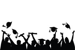 Celebração da graduação Imagens de Stock Royalty Free