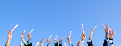 Celebração da graduação Foto de Stock