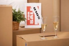 Celebração da HOME nova Imagem de Stock
