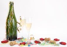 Celebração de Champagne Foto de Stock Royalty Free