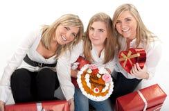 Celebração de família Imagens de Stock Royalty Free