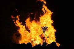 Celebração de Guy Fawkes fotografia de stock