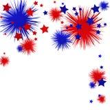 Celebração de julho ilustração royalty free