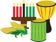 Celebração de Kwanzaa Foto de Stock
