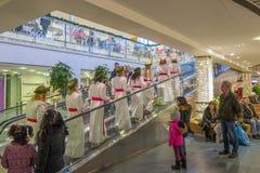 Celebração de Lucia na Suécia Foto de Stock Royalty Free