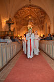 Celebração de Santa Lucia Fotos de Stock