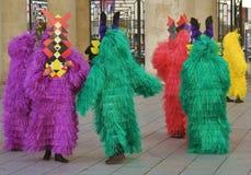 Celebração de Shrovetide em Moscovo Imagem de Stock