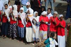 Celebração de Timkat em Etiópia Fotografia de Stock Royalty Free