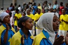 Celebração de Timkat em Etiópia Imagem de Stock Royalty Free