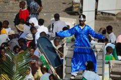Celebração de Timkat em Etiópia Imagens de Stock