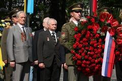 Celebração de Victory Day em Praga, República Checa foto de stock royalty free