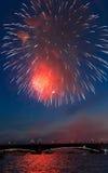 Celebração de Victory Day na segunda guerra mundial em Saint Foto de Stock Royalty Free