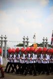 A celebração do 85th rei do aniversário Foto de Stock