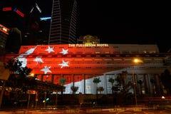 Celebração do aniversário SG50 do jubileu de Singapura Foto de Stock Royalty Free