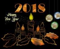 Celebração do ano novo Fotos de Stock