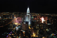 Celebração do ano novo Fotografia de Stock