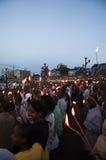 Celebração do ano novo, Addis Ababa, Etiópia Fotografia de Stock