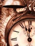 Celebração do ano novo do vintage Fotos de Stock Royalty Free