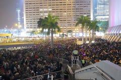 Celebração do ano novo em Hong Kong 2016 Fotos de Stock