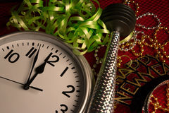 Celebração do ano novo feliz Fotografia de Stock