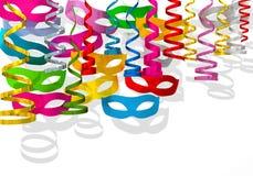 Celebração do carnaval da bandeira Imagem de Stock Royalty Free
