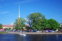 Celebração do dia da cidade, St Petersburg Fotos de Stock Royalty Free