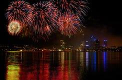 Celebração do dia de Austrália Foto de Stock