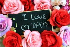 Celebração do dia de pai Fotografia de Stock
