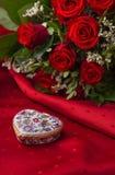 Celebração do dia de Valentim Imagens de Stock