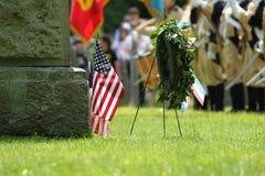 Celebração do dia de veterano Foto de Stock