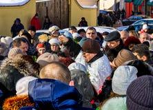 Celebração 2017 do dia do esmagamento em Uzhgorod Imagem de Stock