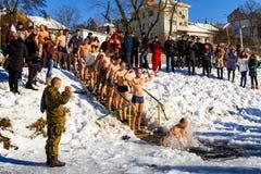Celebração 2017 do dia do esmagamento em Uzhgorod Imagens de Stock Royalty Free
