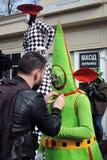 Celebração do dia do ` s de St Patrick em Moscou Fotografia de Stock