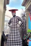 Celebração do dia do ` s de St Patrick em Moscou Imagens de Stock