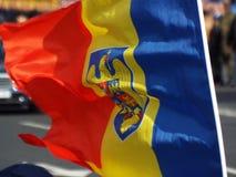 Celebração do dia nacional de Romênia, o 1º de dezembro de 2015 Foto de Stock Royalty Free