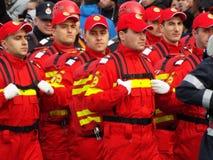 Celebração do dia nacional de Romênia, o 1º de dezembro de 2015 Fotos de Stock Royalty Free