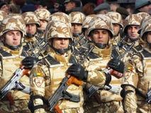 Celebração do dia nacional de Romênia, o 1º de dezembro de 2015 Imagens de Stock