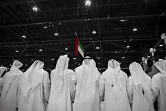 Celebração do dia nacional dos UAE imagem de stock