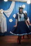 A celebração do dia do ` s da mãe na região de Kaluga de Rússia em 2016 Foto de Stock Royalty Free