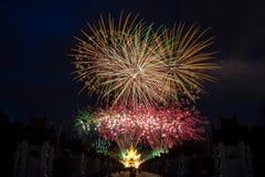 Celebração do fogo de artifício fotos de stock royalty free